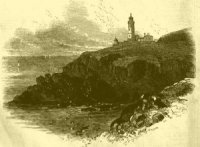 Trevose Head Lighthouse illustration (1847)