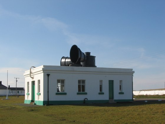 Nash Point foghorn
